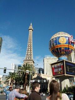 フランスみたいなホテル (PARIS LAS VEGAS)
