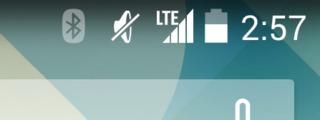 LTE表示すごいw