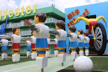 人よりでかいサッカーゲーム
