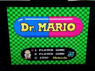 Dr. Mario無事起動