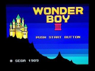 Wonder Boy III