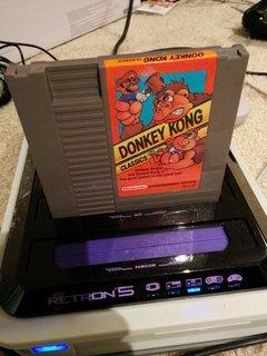 Donkey Kong Classics 装着