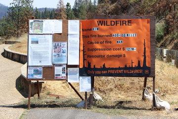 山火事の説明