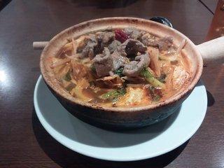 上海モダン 麻辣牛肉麺