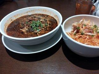 上海モダン 黒胡麻坦々麺