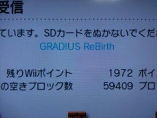 Gradius ReBirth購入