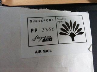 シンガポールのスタンプ