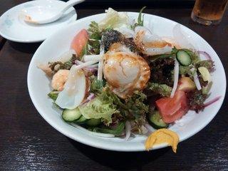 上海モダン 海鮮黒酢冷麺