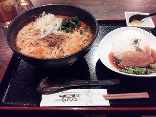 てぃーだ 琉球担々麺