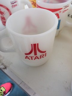 ATARIのFire-Kingのマグ