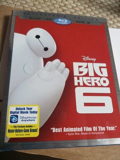 Big Hero 6のBD