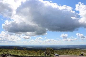 摩周湖第一展望台からの眺め