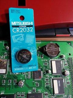 未使用のCR2032