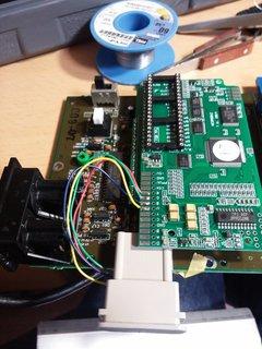 NESRGBボードと接続