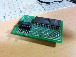 27C040搭載用小基板