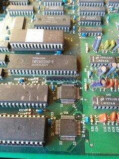 U6295に換装