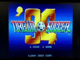 ドリームサッカー'94 起動