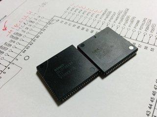 V35+とM90のカスタムチップ