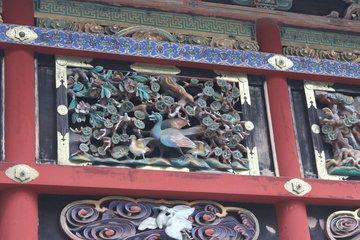 廻廊の彫刻