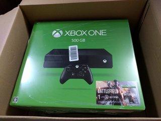 Xbox One到着