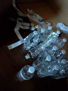 まずいコストコの水も廃棄