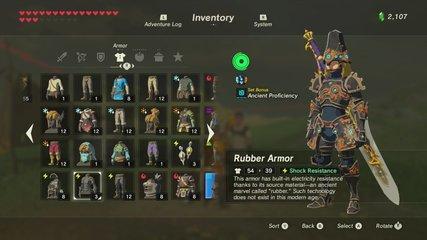 Rubber Armorゲット