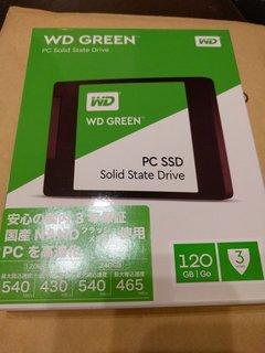 WDのSSD買った