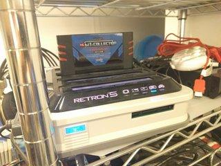 RetroN 5に16bitコレクションを挿してみた