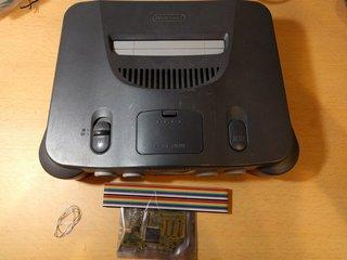 N64RGBとN64本体