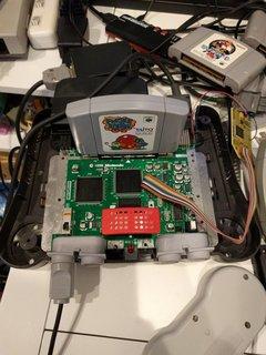 N64RGB組み込み