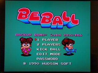 BE BALL