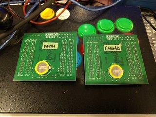 VARTHとカプコンワールド2のCボード
