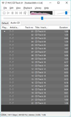 ちゃんと22曲あった