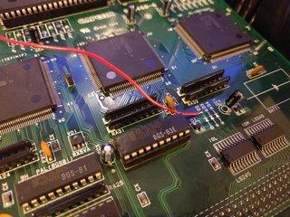 ダイオードのカソード側から電源取得
