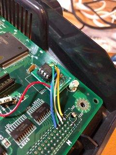 90度回して電池跡地のGNDを使って固定