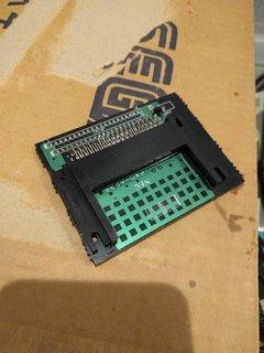 PCエンジンのHuカード接続用コネクタ