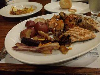 Legal Seafoodでご飯