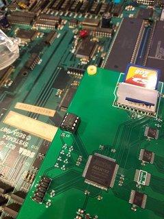24FC256をSystem24メディアコンバーターに装着