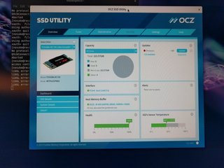 SSD Utility動いてRC100認識した