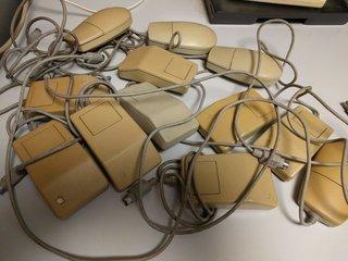 ADB角形マウス