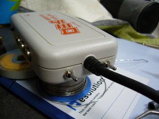 DC-VGAデミロに15kHz切り替えスイッチを増設したところ
