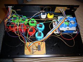 連射回路の基板組み込み