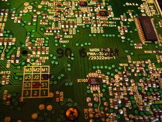 CD-ROM2の基板
