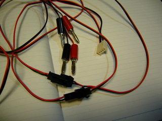 ステレオ接続用のケーブル
