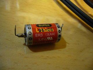 XvsSFについてた電池