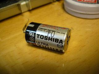 なないろDREAMSについてた電池