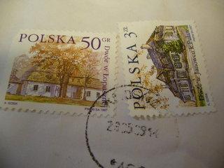 荷物の切手