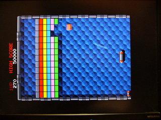 アルカノイド ゲーム画面