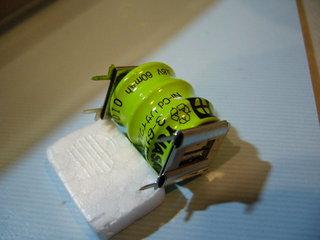 新しい電池