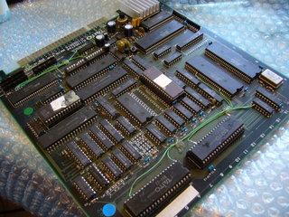 インセクターXの基板